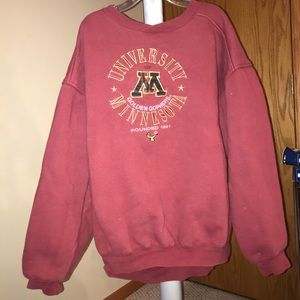 Vintage University of Minnesota crew neck